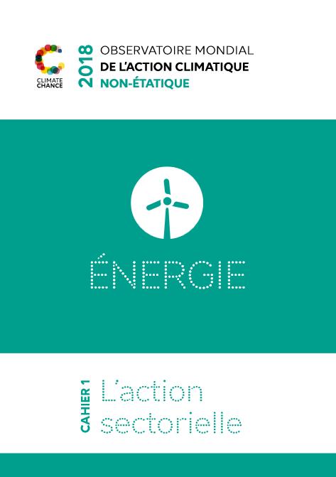 rapport sur l'action climatique des acteurs non-étatiques